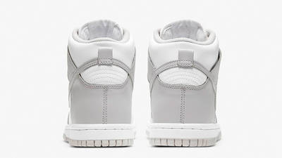 Nike Dunk High Vast Grey GS back
