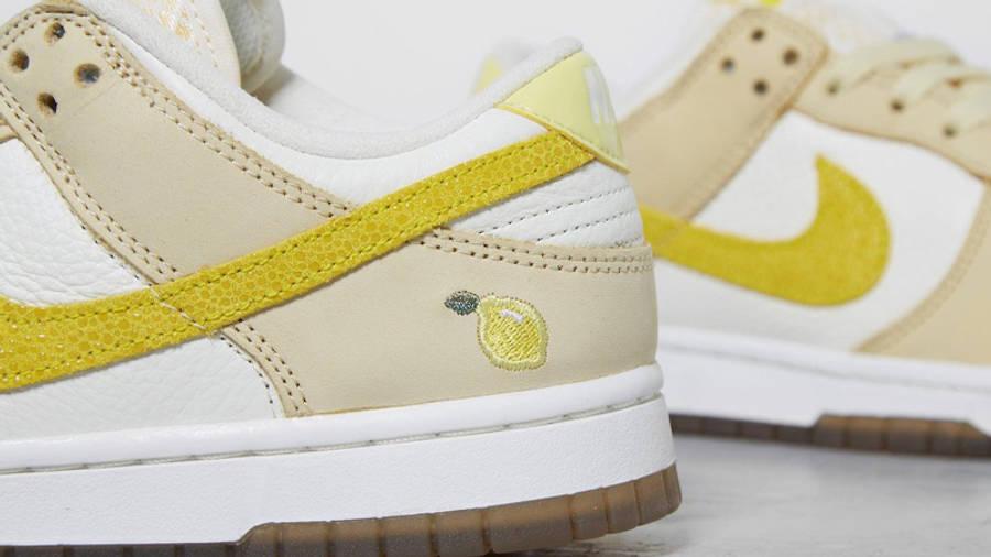Nike Dunk Low Lemon Drop Detailed Look Back