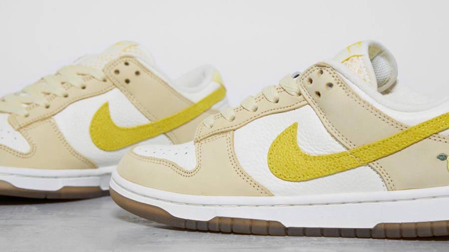 Nike Dunk Low Lemon Drop Detailed Look Side