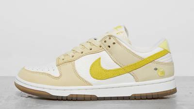 Nike Dunk Low Lemon Drop Detailed Look
