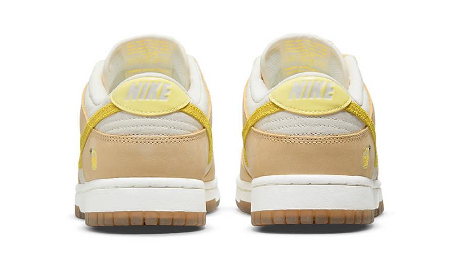 Nike Dunk Low Lemon Drop DJ6902-700 back