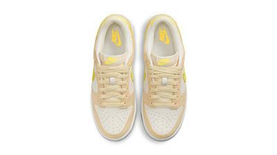 Nike Dunk Low Lemon Drop DJ6902-700 middle