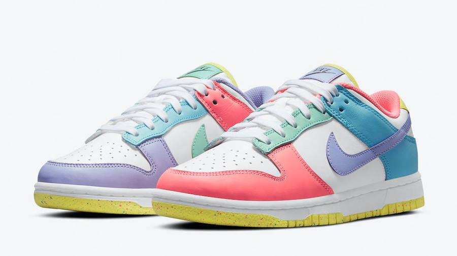 Nike Dunk Low Pastel Multi Front