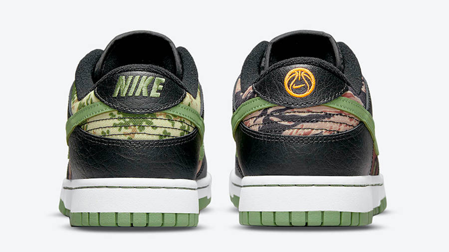 Nike Dunk Low SE Oil Green DH0957-001 Back