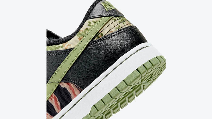 Nike Dunk Low SE Oil Green DH0957-001 Detail 2