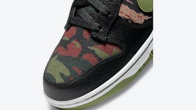 Nike Dunk Low SE Oil Green DH0957-001 Detail