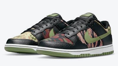 Nike Dunk Low SE Oil Green DH0957-001 Side