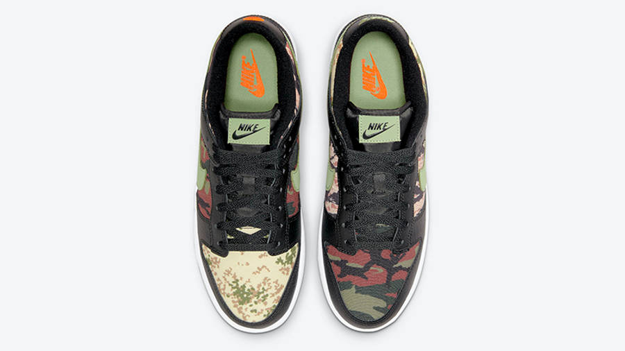 Nike Dunk Low SE Oil Green DH0957-001 Top
