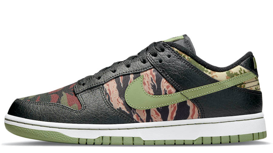 Nike Dunk Low SE Oil Green DH0957-001