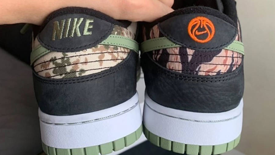 Nike Dunk Low SE Oil Green First Look Back