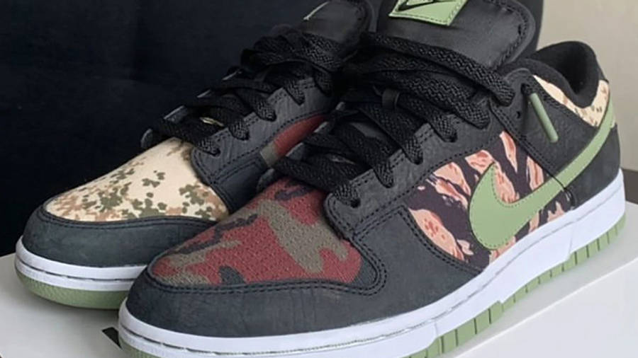 Nike Dunk Low SE Oil Green First Look