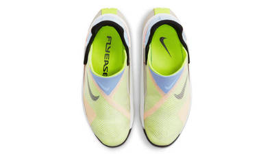 Nike GO FlyEase White Celestine Blue Volt Middle