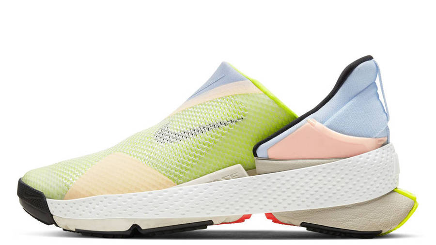 Nike GO FlyEase White Celestine Blue Volt
