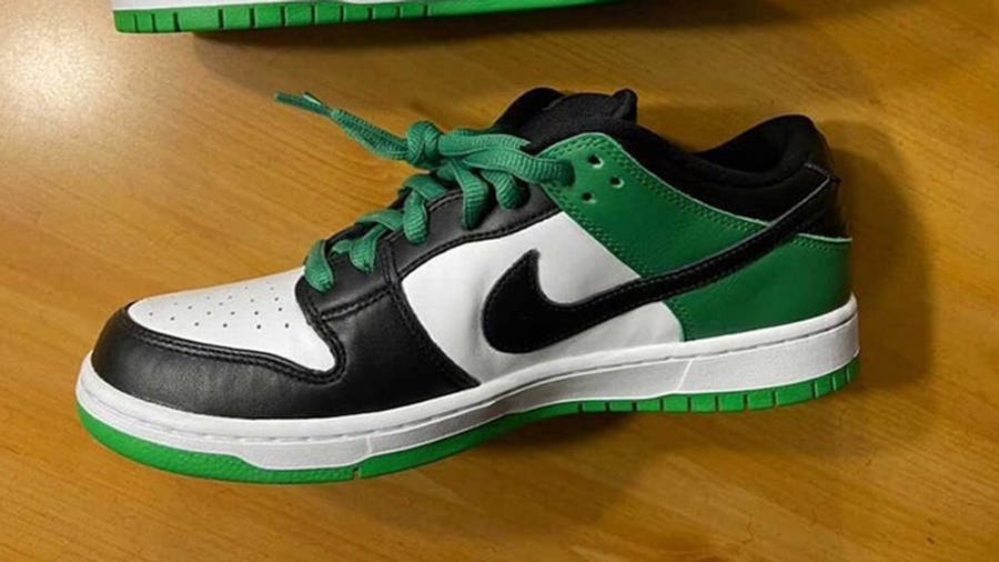 Nike SB Dunk Low Classic Green First Look Top Side