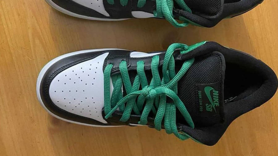 Nike SB Dunk Low Classic Green First Look Top