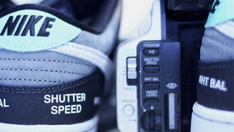 Nike SB Dunk Low VX1000 Camcorder Lifestyle Back