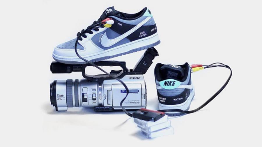 Nike SB Dunk Low VX1000 Camcorder Lifestyle