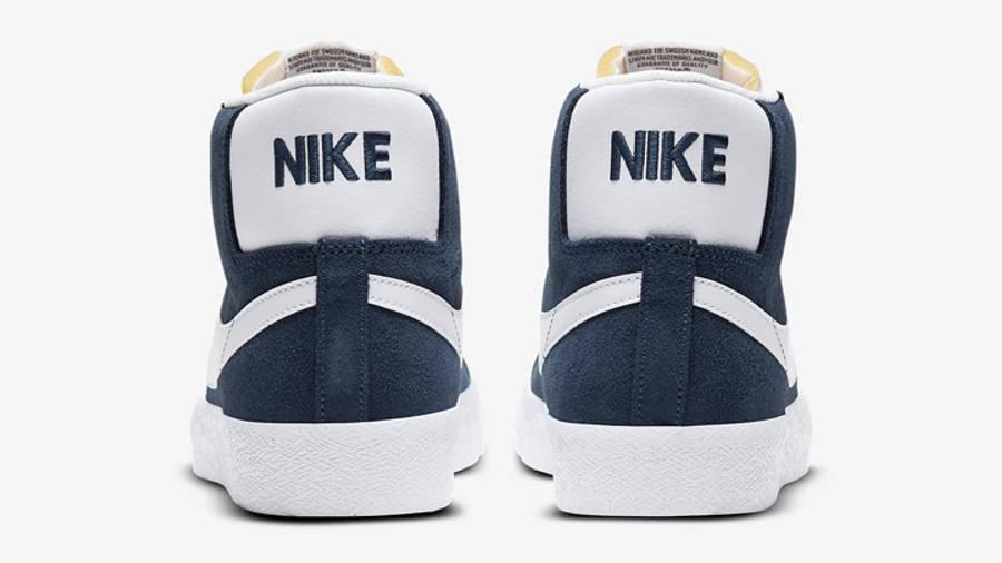 Nike SB Zoom Blazer Baltic Blue Back