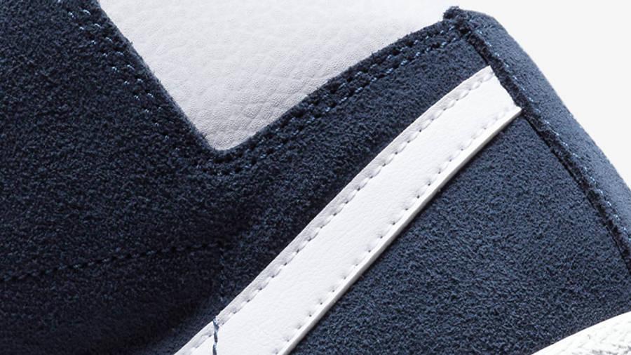 Nike SB Zoom Blazer Baltic Blue Closeup