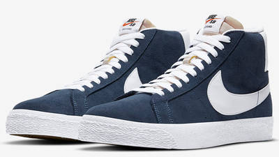 Nike SB Zoom Blazer Baltic Blue Front