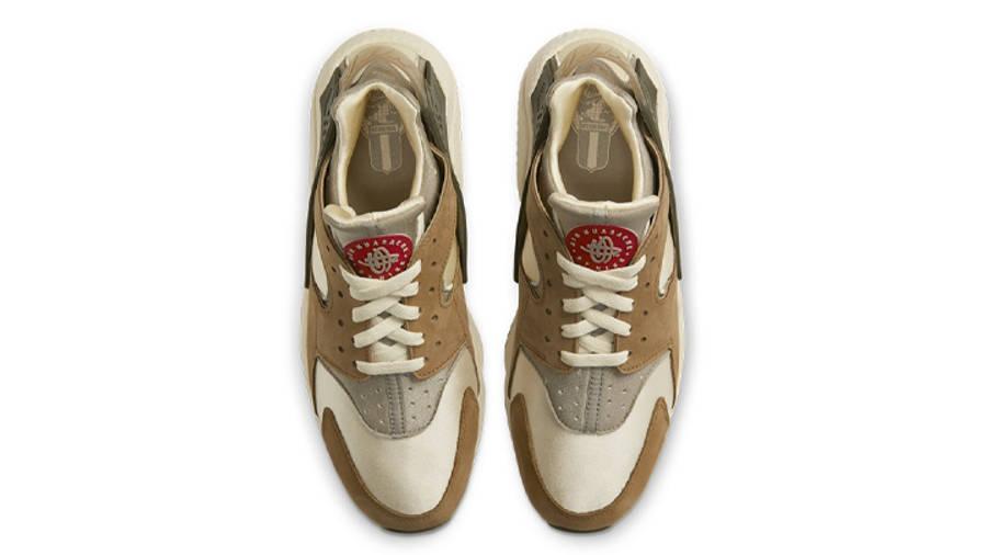 Stussy x Nike Air Huarache LE Desert Oak Middle
