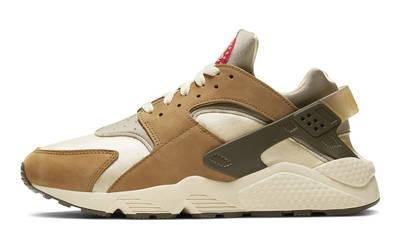 Stussy x Nike Air Huarache LE Desert Oak
