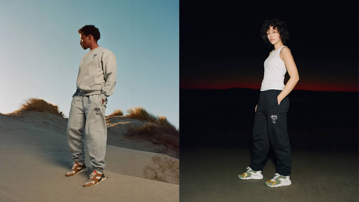 Check Out the Stüssy x Nike Apparel Collection That's Dropping Alongside the Huarache