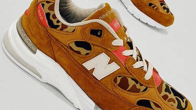 Todd Snyder x New Balance 992 Duck Camo First Look Top
