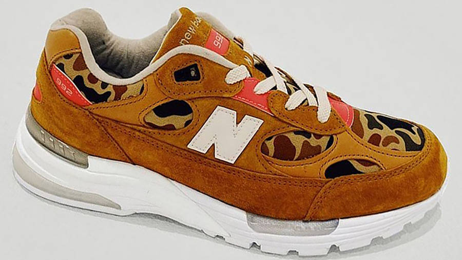 Todd Snyder x New Balance 992 Duck Camo First Look