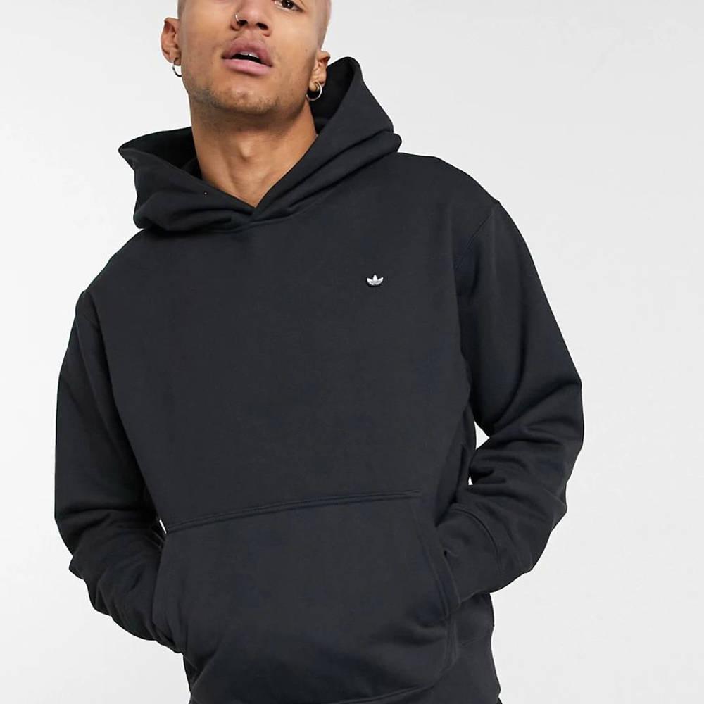 adidas Adicolor Premium Hoodie Black Front