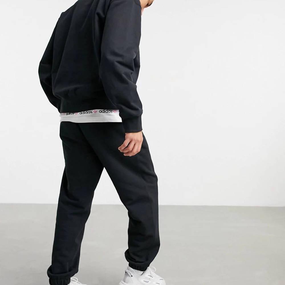 adidas Adicolor Premium Joggers Black Back