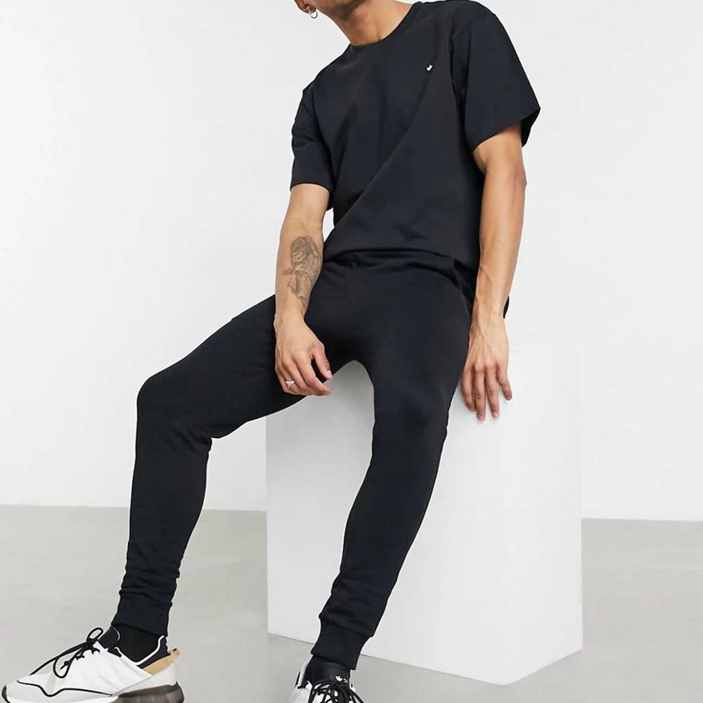 adidas Adicolor Premium T-Shirt Black Full