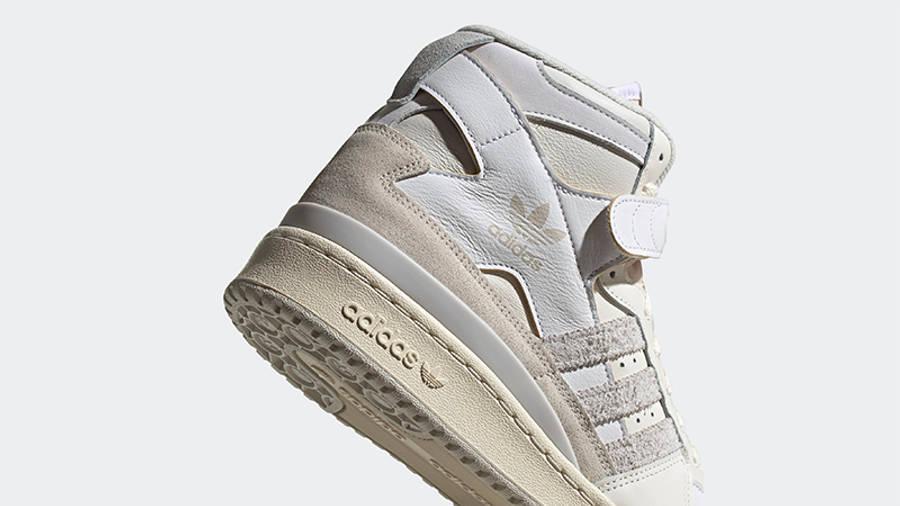 adidas Forum 84 Hi Orbit Grey Detail