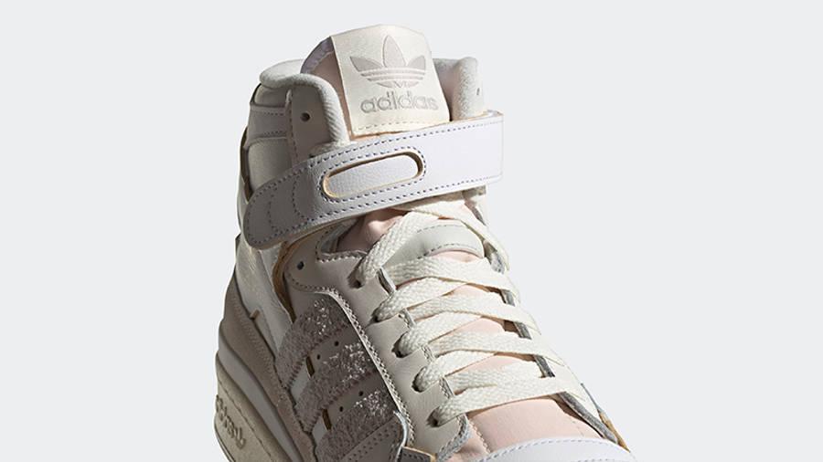 adidas Forum 84 Hi Orbit Grey Front Detail