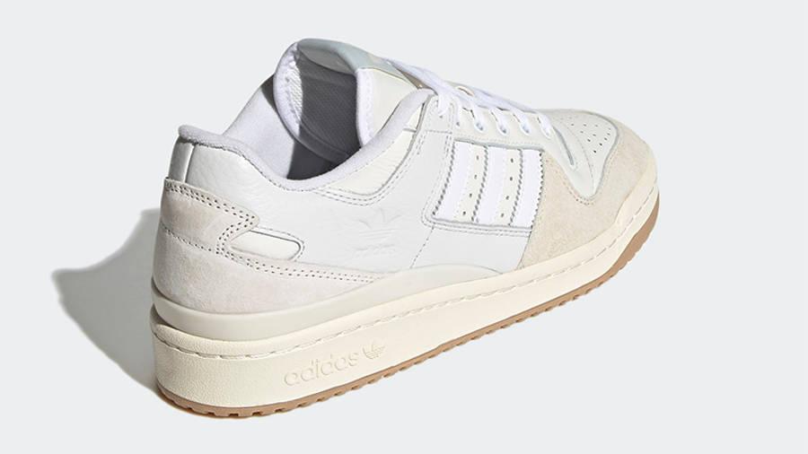 adidas Forum 84 Low Chalk White Back