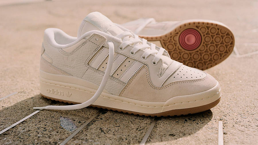 adidas Forum 84 Low Chalk White Side 3