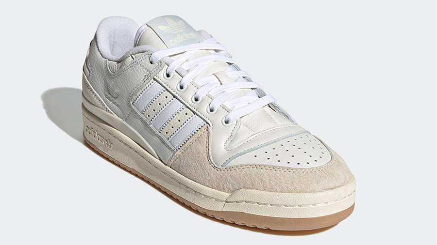 adidas Forum 84 Low Chalk White Side