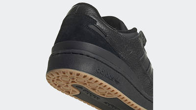 adidas Forum 84 Low Core Black Back Detail
