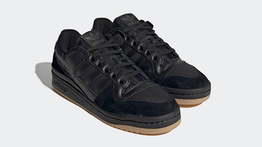adidas Forum 84 Low Core Black Side