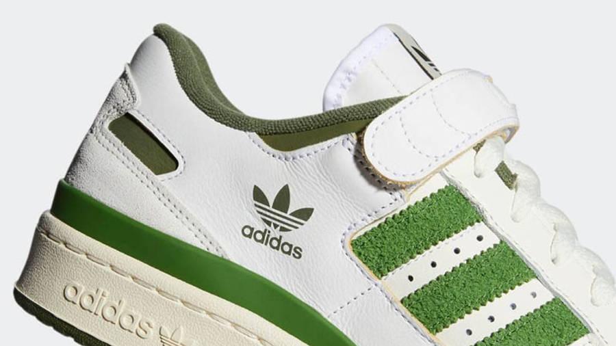 adidas Forum 84 Low Crew Green Closeup