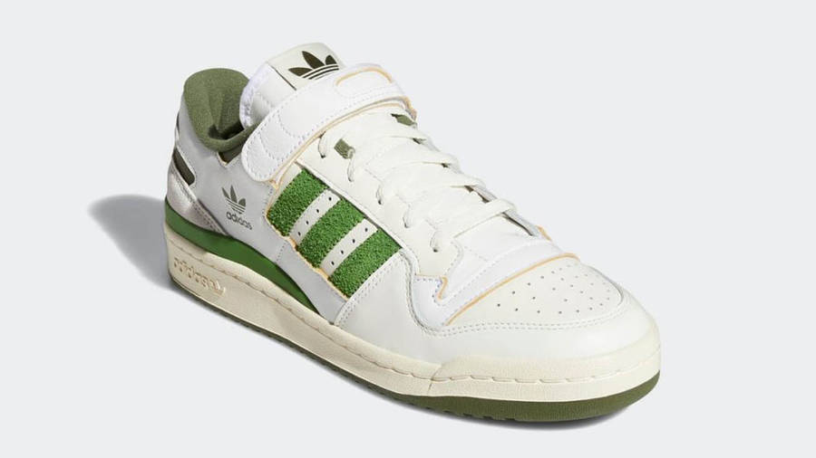 adidas Forum 84 Low Crew Green Front