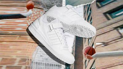 adidas Forum Low Cloud White Side 1