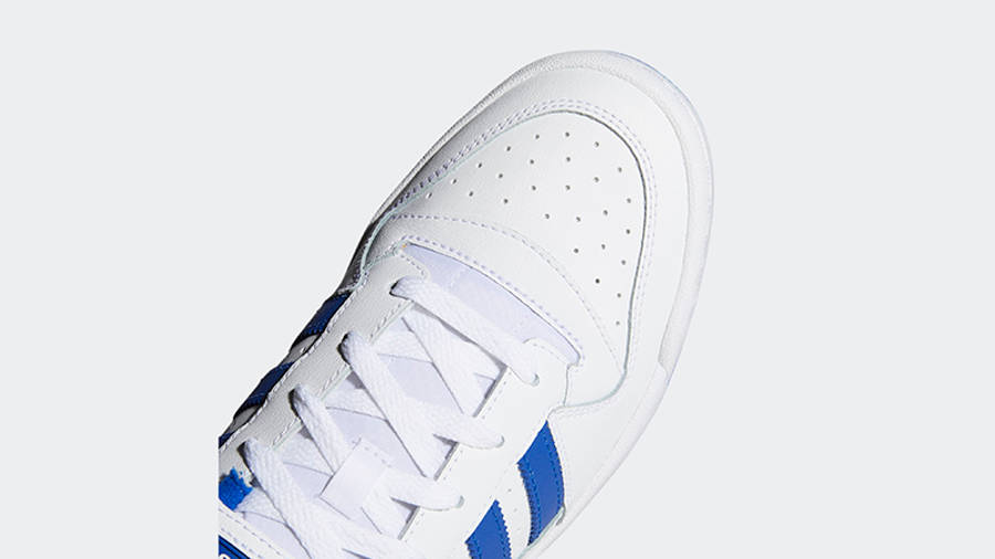 adidas Forum Low Royal Blue Front Detail