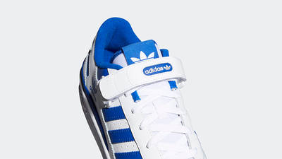adidas Forum Low Royal Blue Top Detail