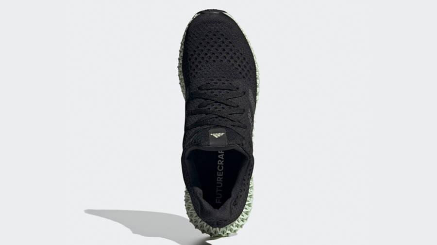 adidas Futurecraft 4D OG Core Black Green Middle