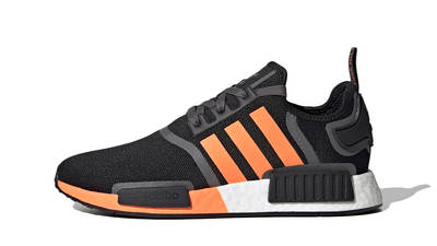 adidas NMD R1 Black Screaming Orange