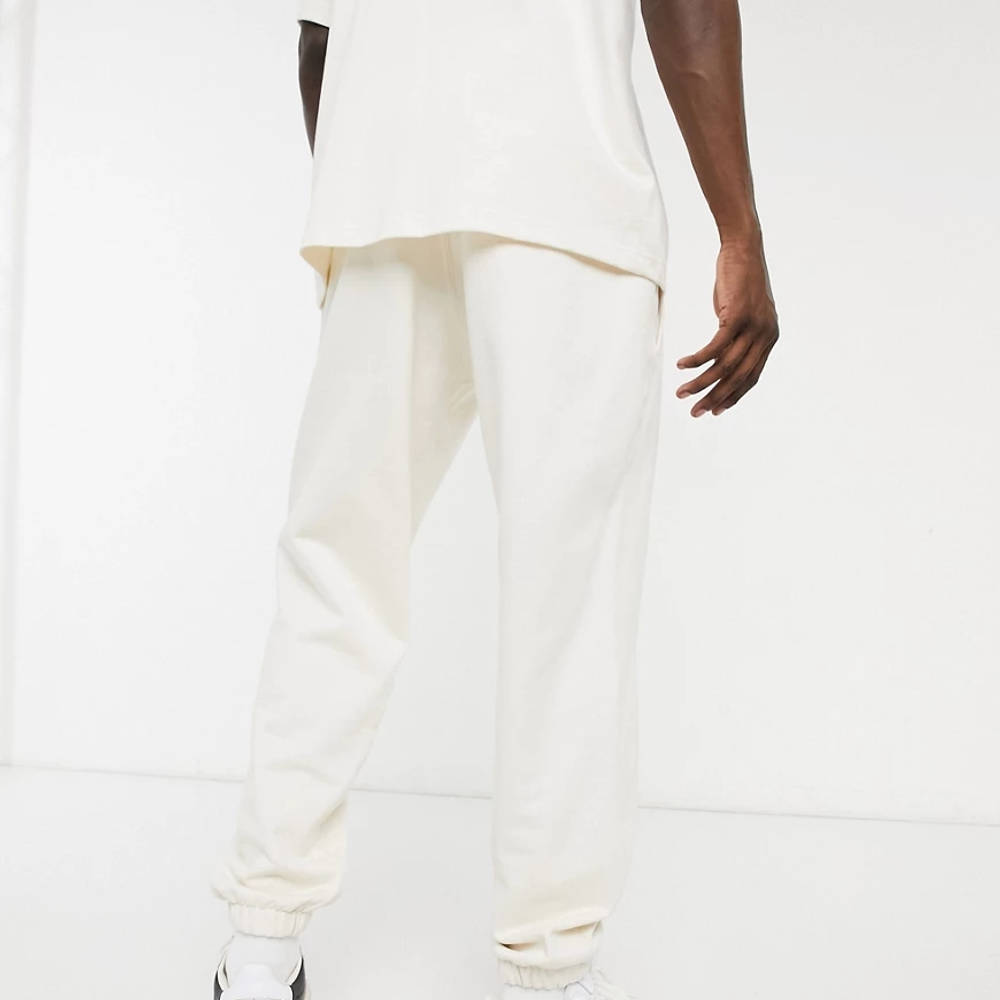 adidas Original Premium Co-ord Joggers Off-White Back
