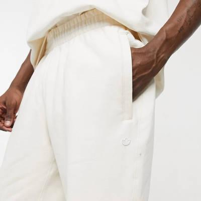 adidas Original Premium Co-ord Joggers Off-White Pocket
