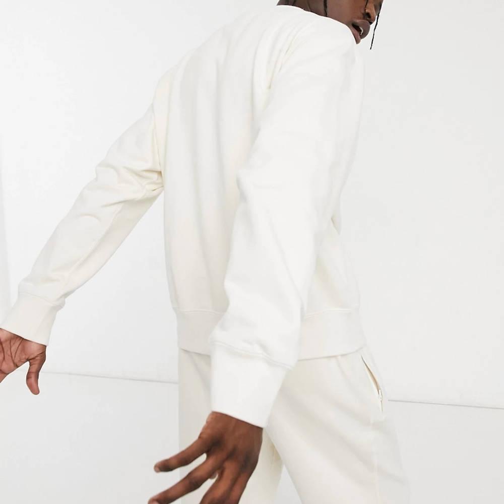 adidas Original Premium Co-ord Sweatshirt Off-White Back