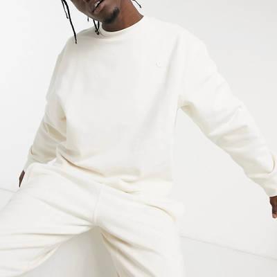 adidas Original Premium Co-ord Sweatshirt Off-White
